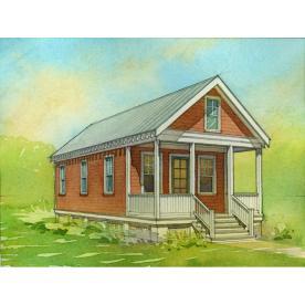 Shop Lowe S Katrina Cottage Kc 544 Plan Set Of 6 Plans