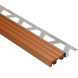 Schluter Systems Trep-Se 0.375-In W X 59-In L Steel Tile ...