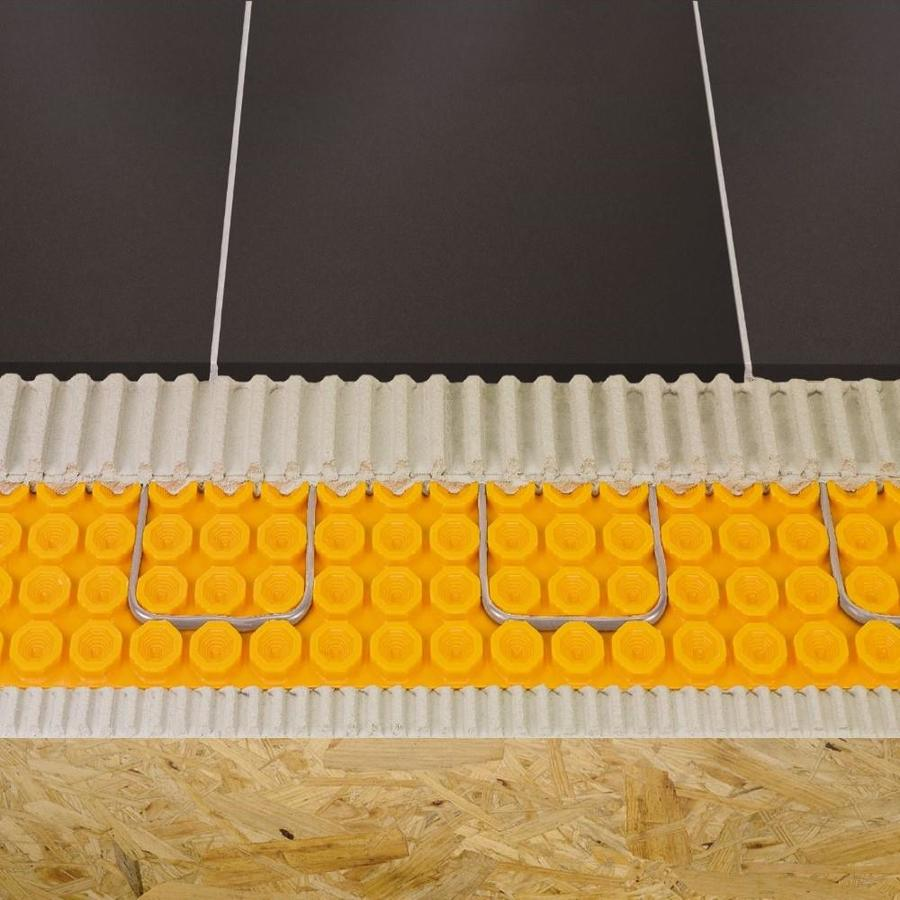 Schluter Systems 39 In X 493 In Orange Underfloor Heating Mat In The Underfloor Heating Department At Lowes Com