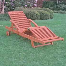 Display Product Reviews For Royal Tahiti Balau Chaise Lounge Chair With  Slat Seat