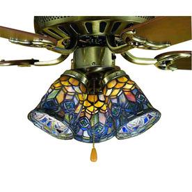 Shop Meyda Tiffany 1 Light Mahogany Bronze Ceiling Fan