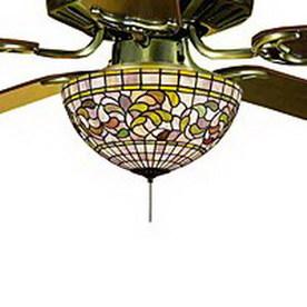 Shop Meyda Tiffany 3 Light Ceiling Fan Light Kit With