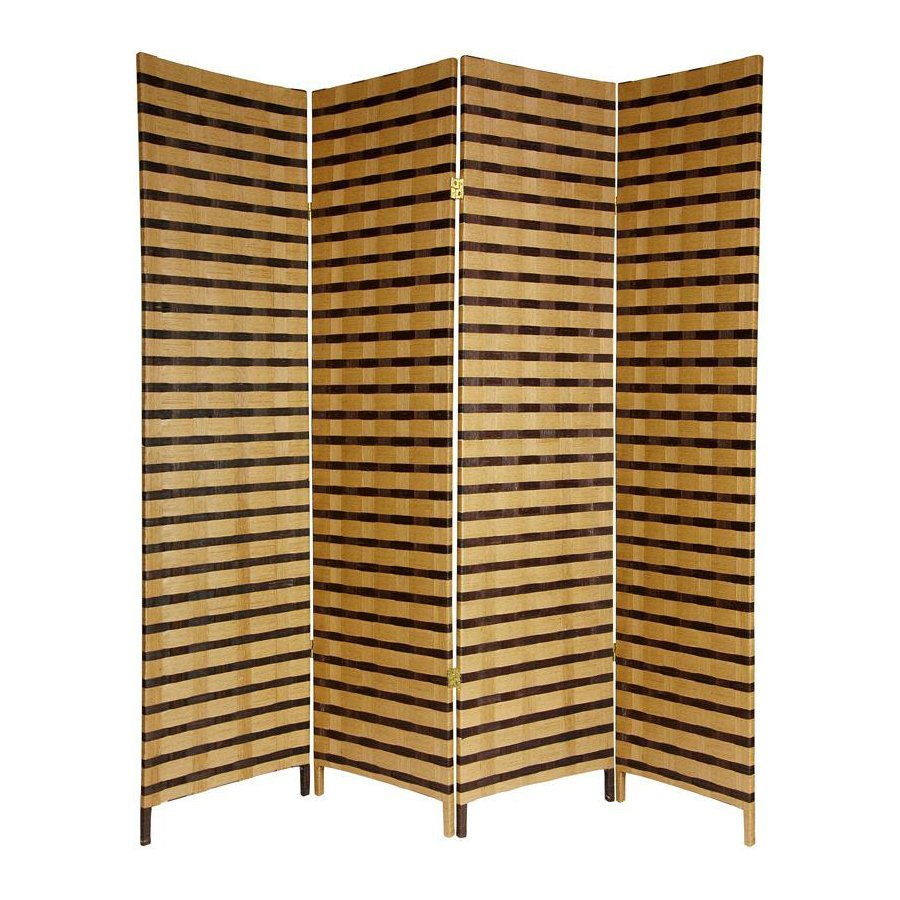 Shop Oriental Furniture Room Dividers 4-Panel Multicolor ...