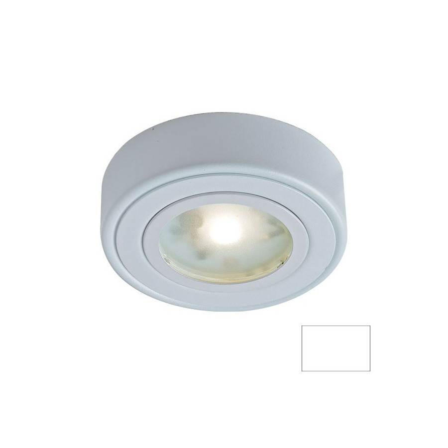 Shop Dals Lighting 3 In Hardwired Plug In Under Cabinet Led Puck Light At Lowes Com