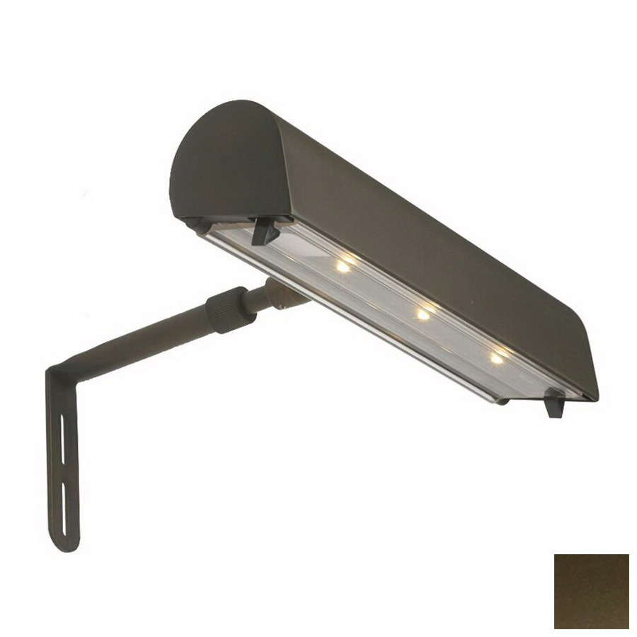 Lowes Lighting Led: Shop DALS Lighting Weathered Bronze LED Battery Picture