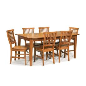 Display Product Reviews For Arts U0026 Crafts Cottage Oak 7 Piece Dining Set  With Dining