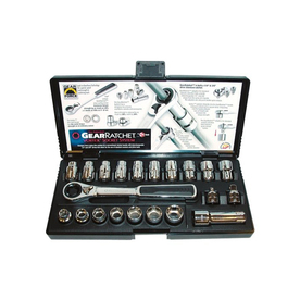 KD Tools 21-Piece Standard (Sae) And Metric Mechanic's To...