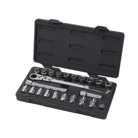 KD Tools 23-Piece Standard (Sae) And Metric Mechanic's To...