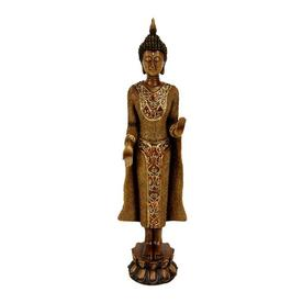 Oriental Furniture Wood 20Inch Standing Thai Buddha Table...