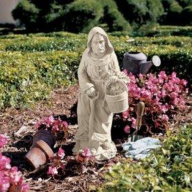 Design Toscano Saint Fiacre The Gardener's Patron 24.5-In...