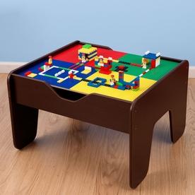Kid Kraft Espresso 2-In-1 Activity Table With Lego Board ...