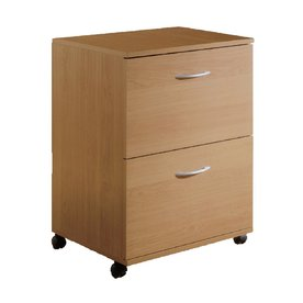 Nexera Natural Maple 2-Drawer File Cabinet 5093