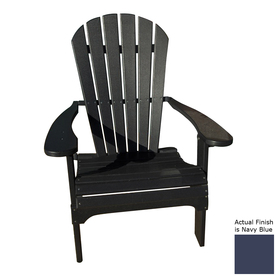 Shop Phat Tommy Navy Blue Recycled Plastic Adirondack