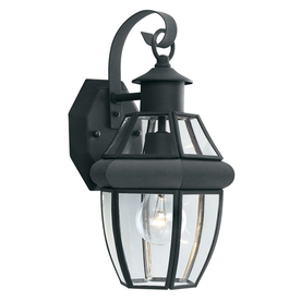 Thomas Lighting Heritage 15.75-In H Matte Black Outdoor W...
