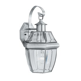 Thomas Lighting Heritage 15.75-In H Satin Pewter Outdoor ...