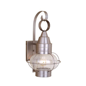 Cascadia Chatham Nautical 18-In H Brushed Nickel Outdoor ...