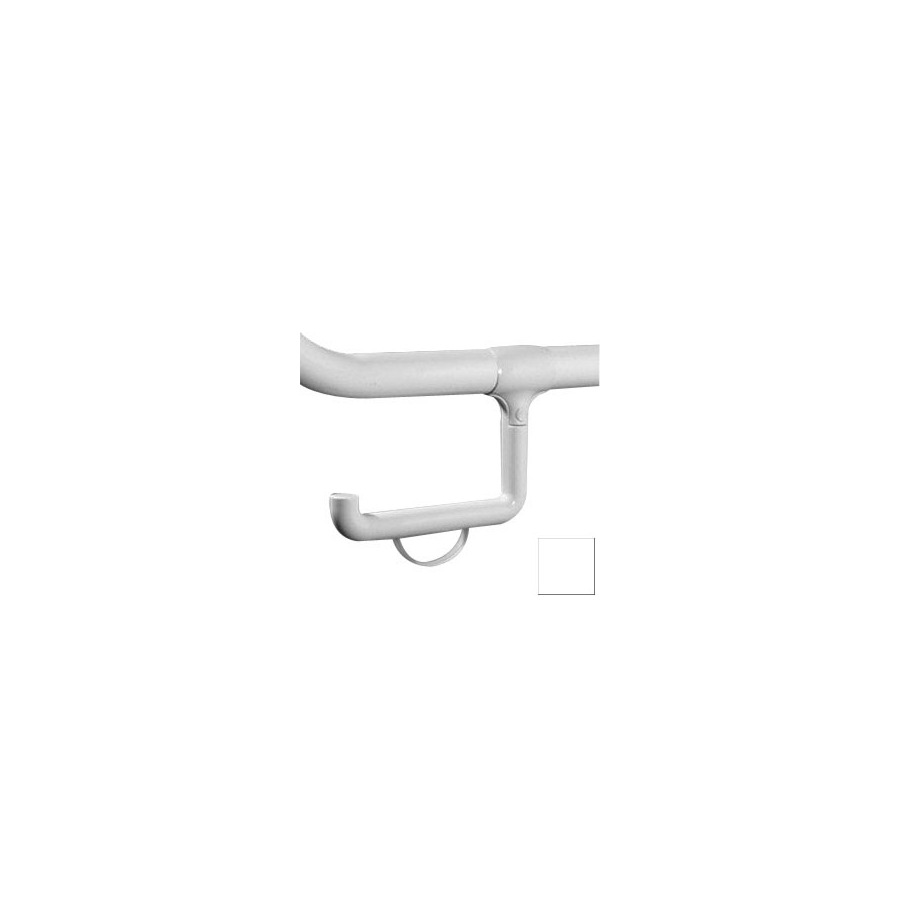 Ponte Giulio USA Accessories Glossy White Surface Mount Toilet Paper Holder