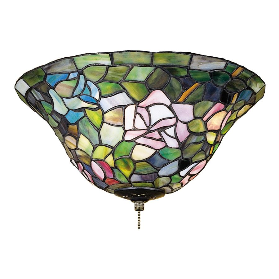 Shop Meyda Tiffany 3 Light Rosebush Ceiling Fan Light Kit