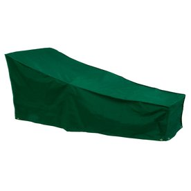 Shop Bosmere Green Vinyl Chaise Lounge Cover At Lowes Com