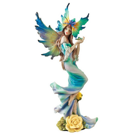 Design Toscano Hand-Painted Resin Fairy Wu74373