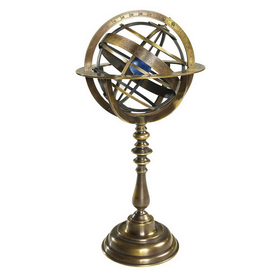 Authentic Models Wrought Iron Armillary Gl052
