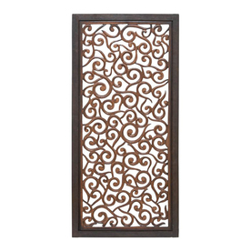 Benzara Elegant Wall Sculpture - Wood Wall Panel 51Inh, 24Inw 34092