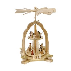 Alexander Taron Candle Holder Nativity Indoor Christmas Decoration 16212