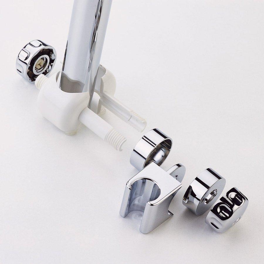 Ponte Giulio USA Glossy White and Chrome Hand Shower Holder