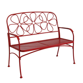 Display Product Reviews For 43.63 In L Steel/Iron Patio Bench