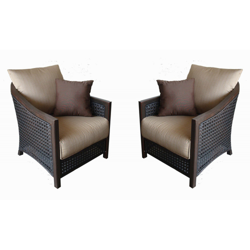 Lowes Allen Roth Cranston All Weather Wicker Patio Chairs