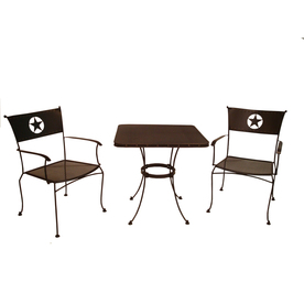 Display Product Reviews For Texas Bistro Piece Steel Patio Dining Set