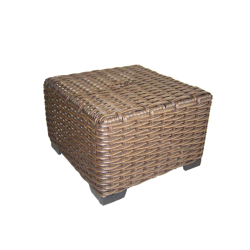 Allen Roth Blaney Wicker Patio Chair Amp End Table From