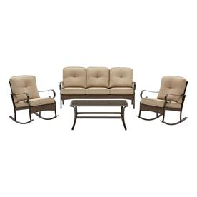 Display Product Reviews For Arbington 4 Piece Steel Frame Patio Conversation Set With Cushions