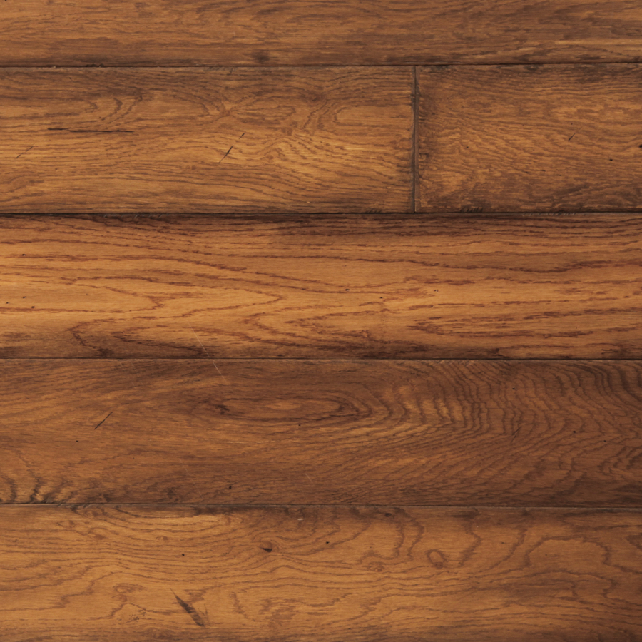 Shop Easoon Exotic Diy 4 87 In W Prefinished Oak Locking