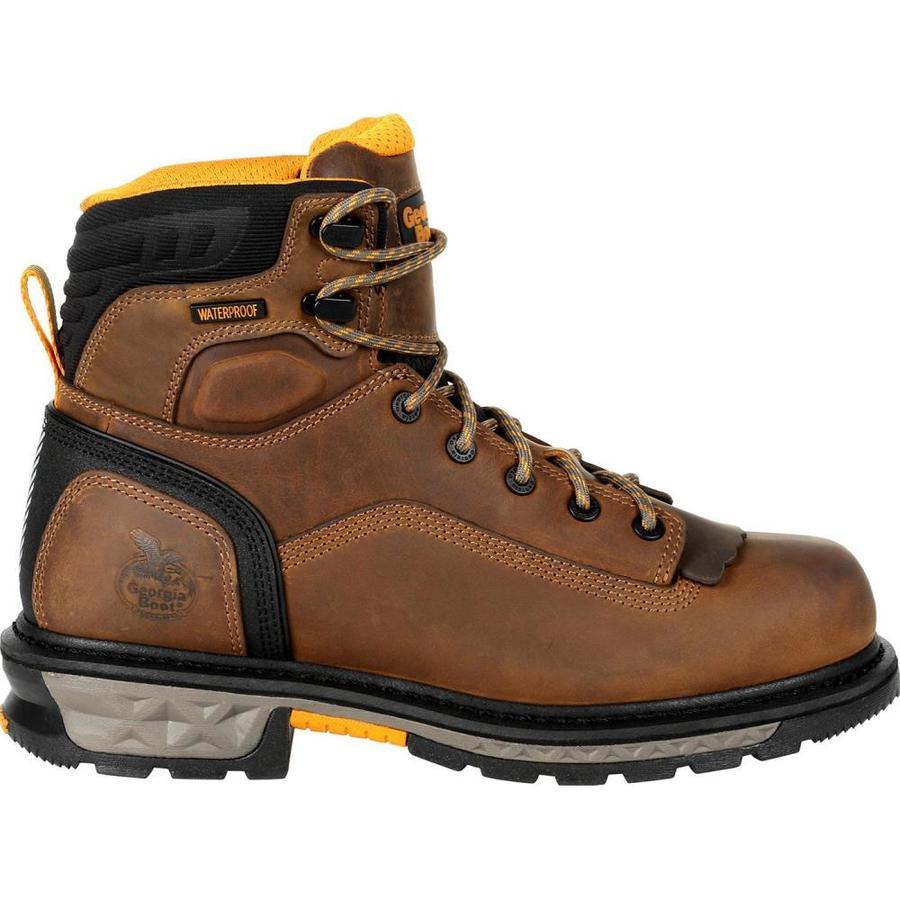 Georgia Boot Size: 14 Wide Mens Black