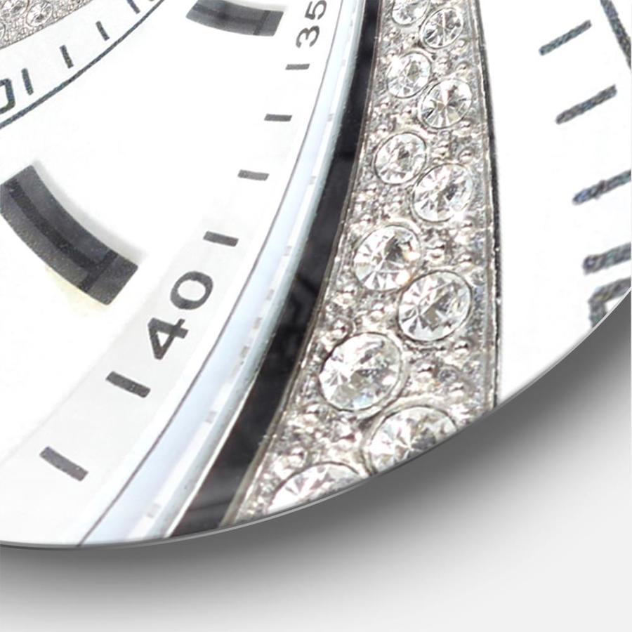 Designart Designart Swirled Time Vortex Modern Wall Clock In The Clocks Department At Lowes Com