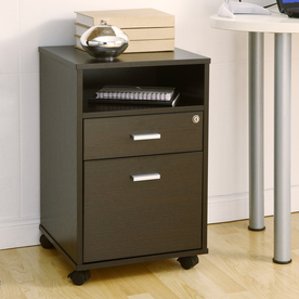 espresso file cabinet shop enitial lab espresso 2 drawer file cabinet at 15190