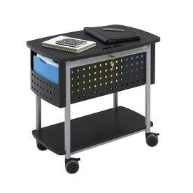 Safco Scoot Black File Cabinet 5370BL