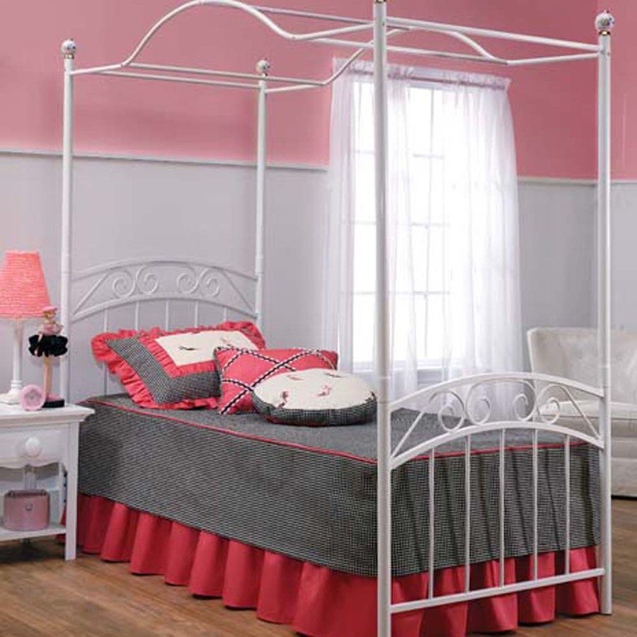 canopy beds for twin - photo #2