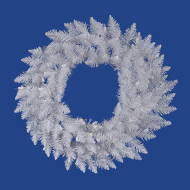 Vickerman 36-in Unlit Spruce Artificial Christmas Wreath A104236