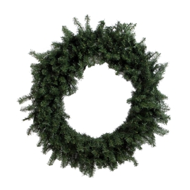 Vickerman 48-in Unlit Canadian Pine Artificial Christmas Wreath A802848