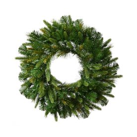 Vickerman 30-in Unlit Cashmere Artificial Christmas Wreath A118330