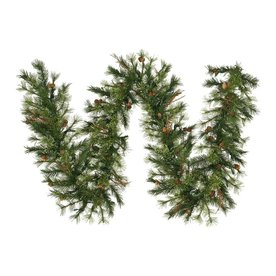 Vickerman 12-In X 9-Ft Pine Artificial Christmas Garland ...