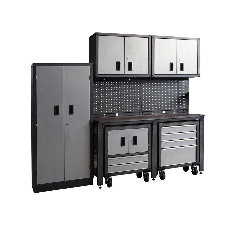 20 Off Lowe S Kitchen Cabinets: Shop International Tool Storage Metal Garage Cabinet At