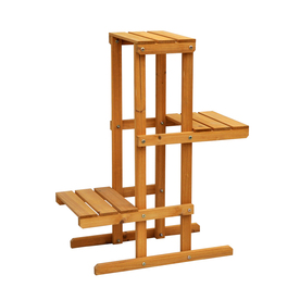 Leisure Season 24-In Natural Wood Plant Stand Ps6111