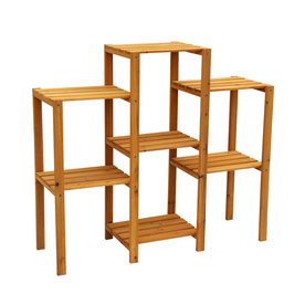 Display Product Reviews For 34 In Natural Outdoor Rectangular Wood Plant  Stand