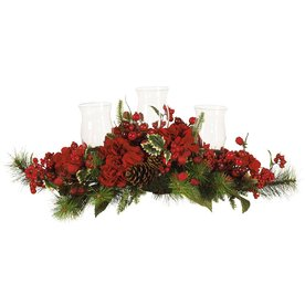 Nearly Natural Tabletop Candle Holder Indoor Christmas Decoration 4659
