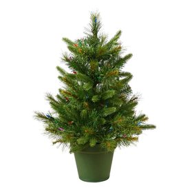 Vickerman 2-ft Unlit Artificial Christmas Tree A118224