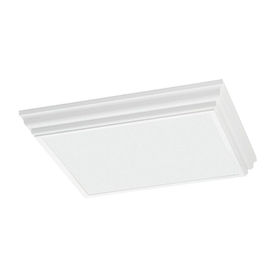 Shop Sea Gull Lighting Decorative Drop Lens White Ceiling