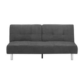 Shop DHI Puzzle et Slate Microfiber Sleeper Sofa at Lowes